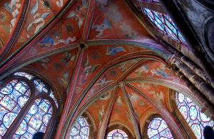 Chapel of musical angels in the cathedral (© City of Le Mans)