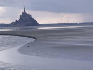 Bay Of Mont Saint Michel, A Night Of Tidal Bore