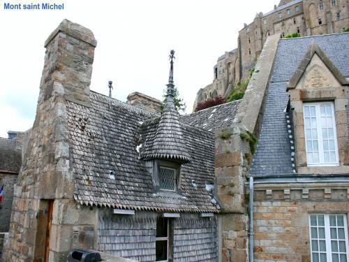 Photos le mont saint michel tourisme vacances week end for Maison du mont