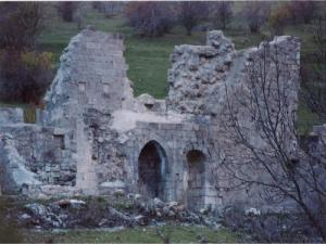 Remains of the Abbey of Clausonne - Le Saix