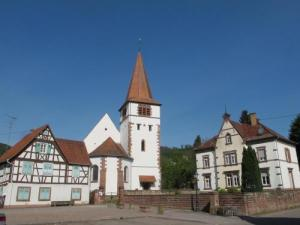 Place of the Protestant Church in Flecken