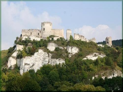 castle gaillard monument in les andelys. Black Bedroom Furniture Sets. Home Design Ideas