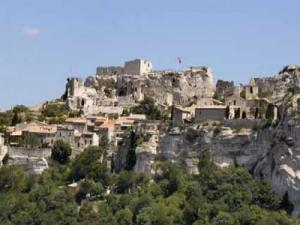 village and castle of Les Baux-de-Provence