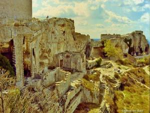 Ruins of the castle (© Jean Espirat)