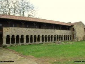 Cloister of the Abbey of Grainetière