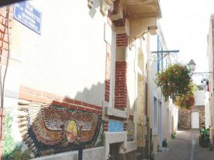 Typical neighborhood, Penotte Island in Sables-d'Olonne