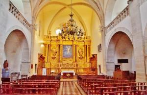 The interior of St. Peter's Church