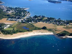 View Of The Campsite Between The Bay Of Quiberon And The Gulf Of Morbihan