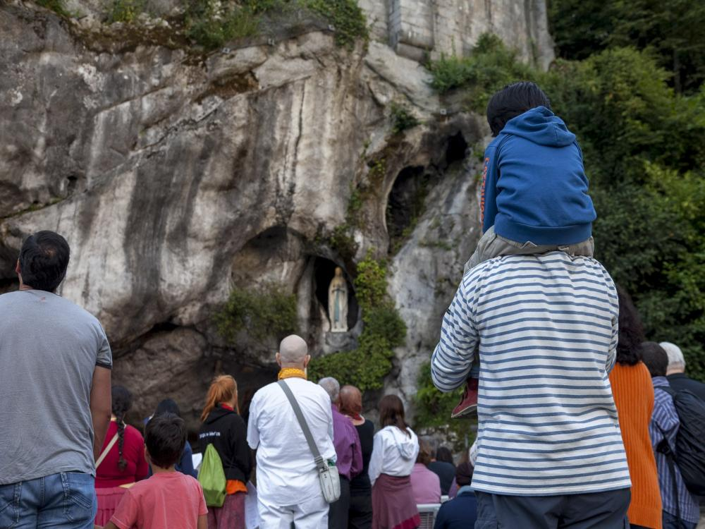 Lourdes - grotto of Apparitions