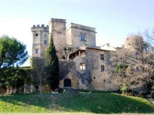 Castle Of Lourmarin Monument In Lourmarin