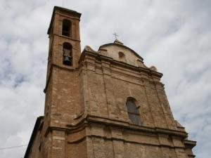 The church Lucciana located in the heart of the village