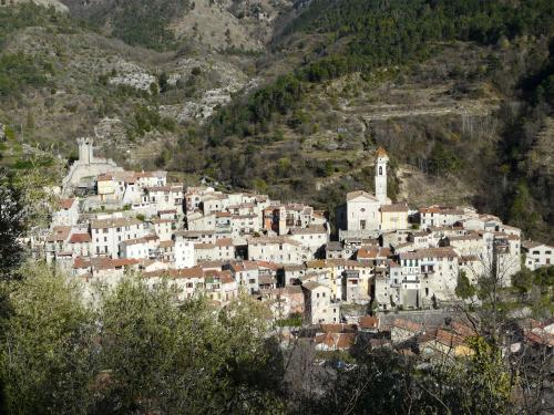 Village of Lucéram - Panoramaaussicht