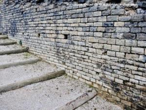 Detail of masonry wall ancient theater (© JE)