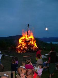 the tradition of the fires of St. John