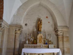 Interior of the church Mariol