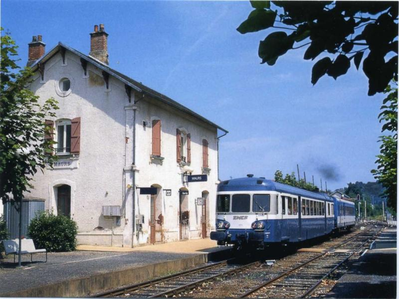 Train station of Maurs - Transport in Maurs