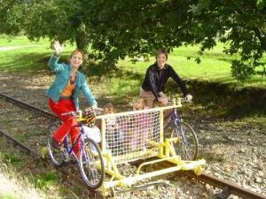 Biking-rail, friendly and sporting