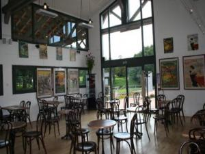 Cafe de la Gare offering exhibition and events