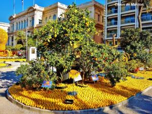 Feast of the lemon in Menton (© Jean Espirat)