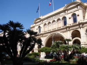 Palace of Europe in Menton