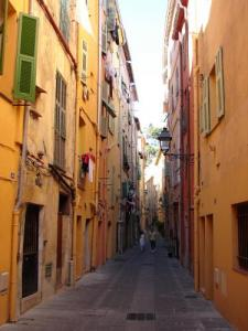 Ruelle of the old Menton