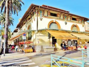 Covered Market of Menton (© Jean Espirat)