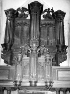 Listed organ of Saint Martin