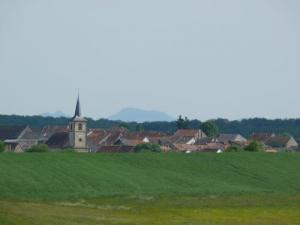 Mittersheim, view of the Donnon