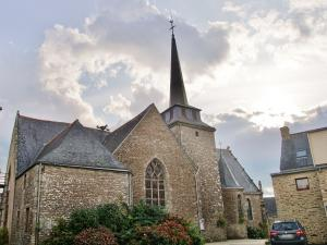 The Saint-Cyr church