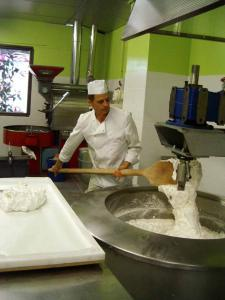 Nougat factory of the Palace of Sweets and Nougat