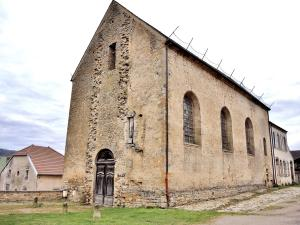 Church of the former Abbey of noble ladies (© Jean Espirat)