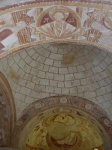 Frescoes and paintings