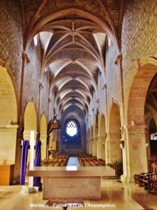 Nave of the church for the choir (© Jean Espirat)