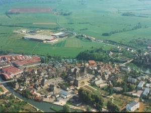Mouzon Aerial view