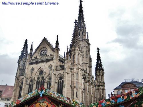 Photos mulhouse guide tourisme vacances - Eglise porte ouverte de mulhouse ...