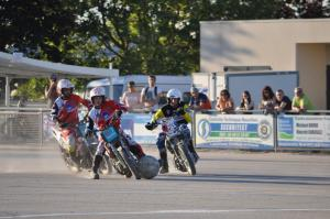 Match of motoball