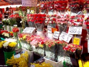 the Market flowers (© JE)