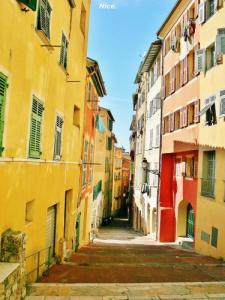 Alley of old Nice
