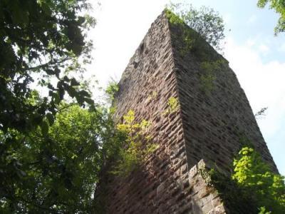 Resultado de imagen de castillo de nideck alsacia