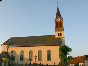 Catholic church of the 19th century Saint Remi
