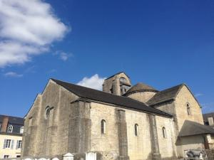 Holy Cross Church of the medieval quarter of Oloron-Sainte-Marie