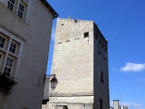 Tower of Grède on the medieval quarter of Oloron-Sainte-Marie