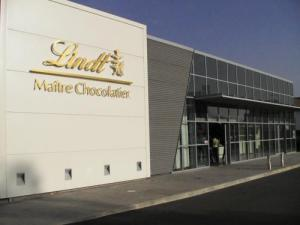 House of the Masters Chocolatiers Lindt