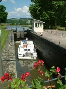 Lock No. 1 on the Saône
