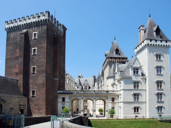 castle of pau monument in pau