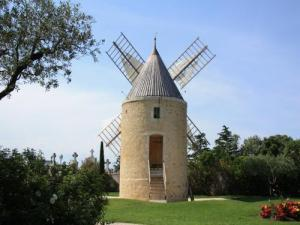 Moulin restauré