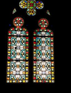 Stained Glass van de collegiale (© Jean Espirat)