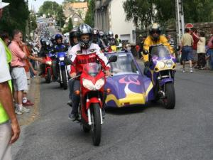Pilgrimage of Our Lady of bikers (© D. Huet)