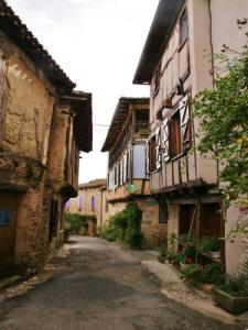Rue du village houses timber