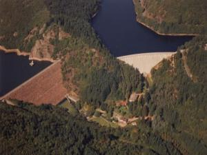 the two dams